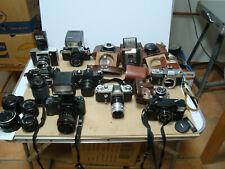 Konvolut altete analoge Fotoapparate foto Kamera Flash Objektiv