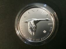 2020 Canada $10 2oz Canadian Goose Reverse Proof  Fine Silver Bullion coin