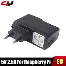 5V 2.5A Framboise pi 100-240V DC Plug UE USB Chargeur adaptateur d'alimentation