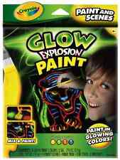 Crayola Glow Explosion - Glow Paint and Scenes