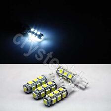 4 x T10 194,168,2825, 13 x 5050 SMD LED White Super Bright Car Lights Lamp Bulb