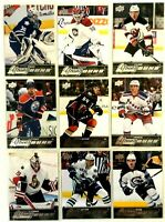 18 Card Lot 2015-16 Upper Deck Young Guns Leafs Oilers Canadiens Bruins  Flyers