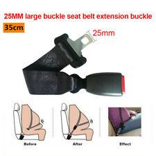 1x Big Buckle Car Seat Seatbelt 35cm Safety Belt Extender Extension 25MM Buckle