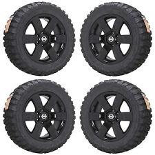 "20"" Nissan Armada Titan Truck Black Wheels Rims Tires Set 4 62494"
