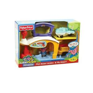 Fisher Price P8978/P8981 Little People Animalville Airport New Boxed