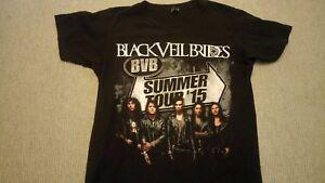Official Black Veil Brides BVB Summer Tour 2015 Tshirt  Small