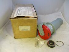 New Ge Ge5100c7 100 Amp Pinampsleeve Connector 100a 277480vac 4p 5w
