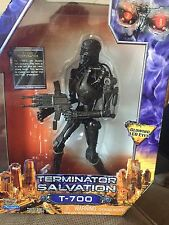 Terminator Salvation T-700 Glowing LED Eyes Action Figure 10""