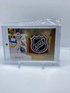 BRADEN HOLTBY 2016-17 Upper Deck Ultimate Collection NHL Logo Shield 1/1