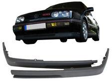VW Golf 3 III Front Bumper Spoiler Lip Extension Splitter MK3 VR6 Look GTI Chin