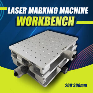 2D Workbench X/Y Axis Moving Table 300x220MM for Laser Marking Engraving Machine