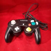 Nintendo GameCube black Controller Official Genuine DOL-003 Wired