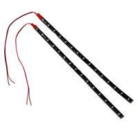 2 x String Lights 15 LED Strips 30 cm Red Light Chain 12V C7D0