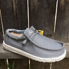 Hey Dude Mens Shoes Wally Stretch Iron Loafers