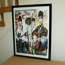 The Beatles John Lennon Paul McCartney George Ringo Poster Print Wall Art 18x24