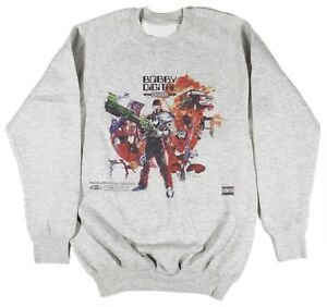 RZA Bobby Digital Grey Sweatshirt Size S-XXL Wu-tang odb Raekwon hip hop