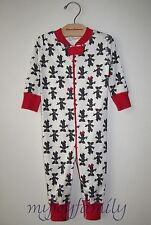 HANNA ANDERSSON Baby Organic Zip Sleeper Disney Minnie Mouse 70 9-12 months NWT