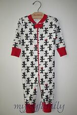 HANNA ANDERSSON Baby Organic Zip Sleeper Disney Minnie Mouse 60 6-9 months NWT
