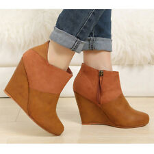 High (3 in. and Up) Wear to Work Ankle Boots for Women