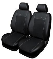 VW Caddy 2x Devant Simili Cuir Housse de Siège Noir
