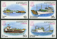 Kiribati 440-443, MI 439-442, MNH. Corporation. Local ships, 1984