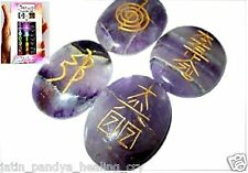 Jet Lovely Amethyst Usui Reiki Healing Set Free Booklet Jet International