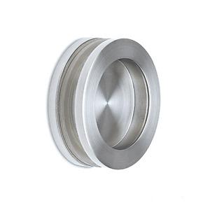 Griffmuschel Edelstahl-Design für Glastür für Glasstärke 8 - 12 mm