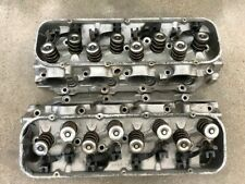 1968-69 GM CHEVROLET CHEVY CYLINDER HEADS ALUMINUM 3919842 PAIR COMPLETE OEM