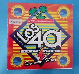 LOS CUARENTA CD - SUMMER HITS 1994 - ITALIA NETWORK - SUCCESSI ANNI 90