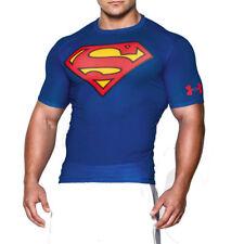 Superman Polyester Regular Size T-Shirts for Men