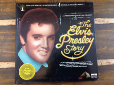 The Elvis Presley Story Vintage Vinyl Record LP 1977 5 Record Set