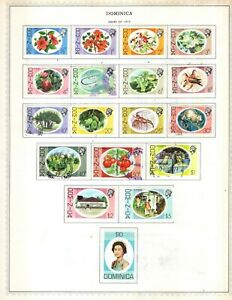 Kenr2: Dominica 1975-1987 Collection from Minkus Global Album