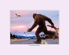 NEW Sasquatch Bigfoot Collectible Original Digital Painting