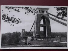 POSTCARD RP DEVON CLIFTON SUSPENSION BRIDGE - BRISTOL