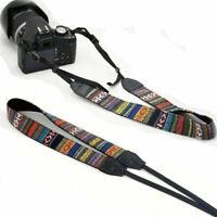 1PC Vintage Dslr Slr Camera Shoulder Neck Strap Belt For Sony Canon Nikon Pentax