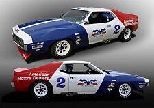 1971 AMC Javelin Trans-AM Vintage Classic Race Car Photo (CA-0770)