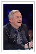 LOUIS WALSH AUTOGRAPH SIGNED PHOTO PRINT THE X FACTOR