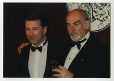 Alec Baldwin & Sean Connery - Vintage Candid Photograph by Peter Warrack