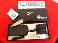 Boker Solingen Germany Bud Nealy fixed blade 9 position carry new in box knife