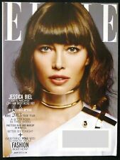 Elle Magazine Jan 2013 - Jessica Biel - Better Body - Better Sex