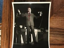 Vic Damone Pop & Big Band Singer Actor Writer Mafia Tie Original Photograph 1971