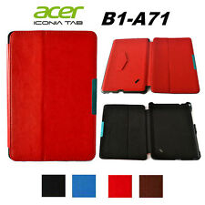 For Acer Iconia Tab B1-A71 Leather Folding Stand Case Cover Skin Protector Guard