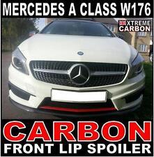 Mercedes A Class W176 AMG Sport Carbon Front lip spoiler A180, A200, A250
