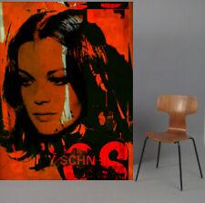 Motiv Romy Schneider Vintage XXL140x100cm Arcylglas 5 mm PopArt/Poster/StreetArt