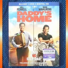 DADDY'S HOME DVD & Blu-Ray 2 Disc Set Ferrell ©2015 Widescreen - NEW & Sealed