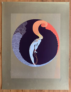 """ERTE """"L'Amour"""" from Four Emotions (1980) Hand signed and numbered (248/300)"""