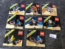 Lego 8 Anleitungen Classic Space (only Instruktion, No Bricks)