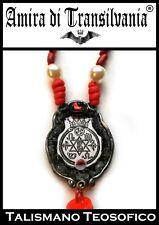 Talismano magico occulto teosofico teosofia occultismo wicca paganesimo pagan
