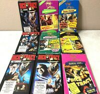 Dick Tracy Vintage 1970s Crimestopper Huge VHS Lot Of (9) Rare Mob Movies