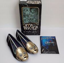 NEW IRREGULAR CHOICE STAR WARS C3PO WOMENS SHOES LIMITED EDITION SIZE 8
